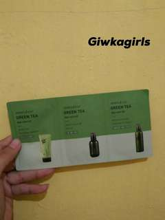 Innisfree green tea day care kit