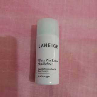 White plus renew skin refiner laniege travel size