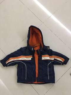 Mother care baby boy winter jacket (18mos to 2t)