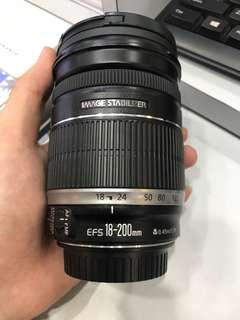 Canon 18-200mm F3.5-5.6 EFS IS LENS