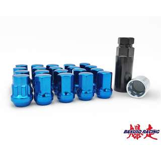 RAVS 17 Hex Lock & Nut Kit Blue