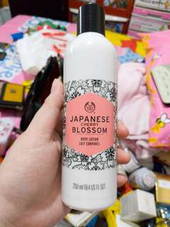 The body shop japanese bloosom body lotion