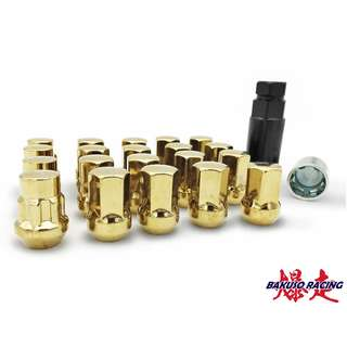 RAVS 17 Hex Lock & Nut Kit Gold