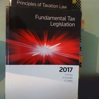 Principles of Taxation Law & Fundamental Tax Legislation