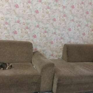 2 Sofa lebar 100rm
