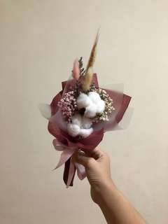 Double Cotton Flower Bouquet
