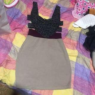 Branded dress