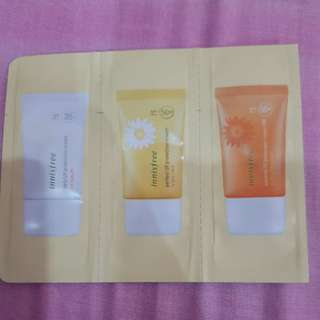 Trial sunblock innisfree