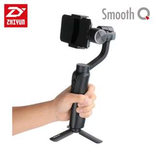 Zhiyun Smooth Q Handheld Gimbal with Ulanzi Micro Tripod