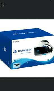 Playstation VR with Camera (Free VR World and GT Sport)