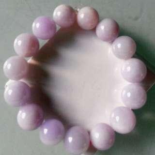 紫玉手串珠(天然A貨紫玉)