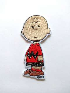 Snoopy Charlie Brown Sew On Patch