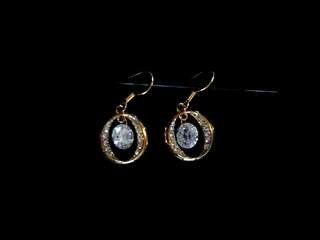 Oroton Golden Earrings