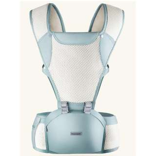 Baby carriers with hip seat