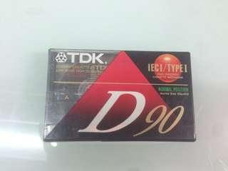 TDK cassette type