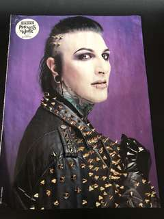Motionless in White magazine picture for sale