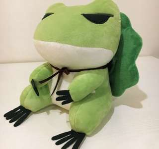 Traveller Frog Stuffed Toy