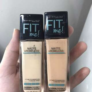 FIT ME! Maybelline Foundation