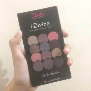 Eyeshadow Sleek i Divine-Oh So Spesial