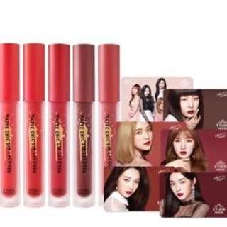 red velvet lip lacquer