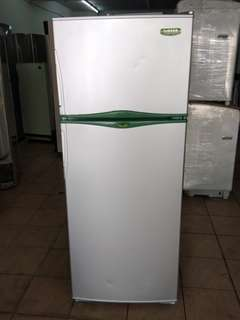 Singer too door fridge...We give one month warranty if Anny problem we change or repair body condition 80% good Working condition 100% good You can call or SMS whatsup 01131838436