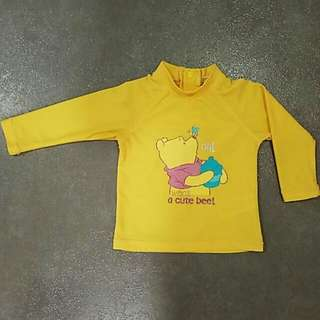 (PL) Disney Baby Swim Wear - Pooh Bear (6-9M)