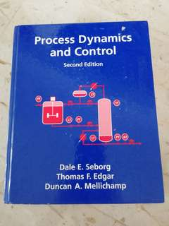 [NUS Txbk] Process Dynamics and Control