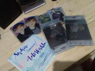 EXO Transparent photocards