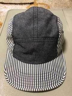 Stripe grey painter caps/ hats