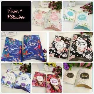 Yasin + Pillowbox Berkat