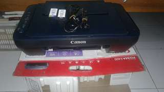 Printer Canon E400 Multifungsi