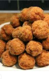 Fried chickenballs Ayam Bolas   nyonyamaneknek  In those days of yore, Chorchor's kitchen came alive every