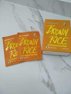 Brown Rice Brightening Facial Mask
