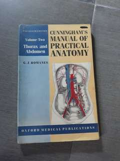 Cunningham's Manual of Practical Anatomy