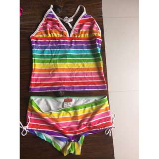 Cupid girl tankini set