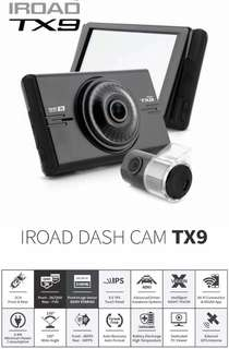 Iroad TX9 2 Channel Frt 3k Rear Full HD