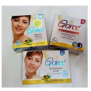goree day and night cream and soap