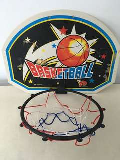 Wall mounted hanging Basketball Net Goal hoop rim
