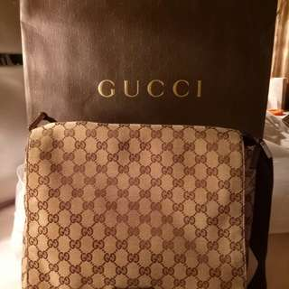 💯 authentic Gucci bag messenger men
