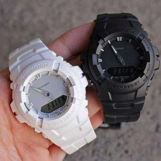 Casio Gshock GA100 Black Or White