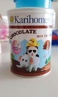 Karihome Chocolate Milk Sweeties