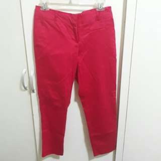 Glassons cropped trousers small