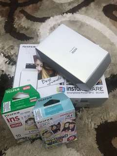 FUJIFILM INSTAX SHARE SP-2 printer.
