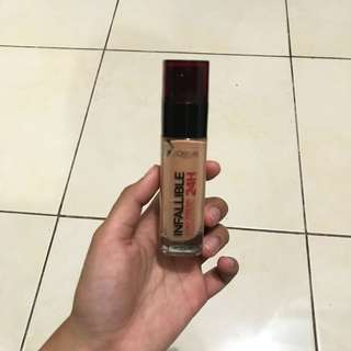 Makeup L'oreal Infallible Stay Fresh Matte Foundation 24H Shade Honey