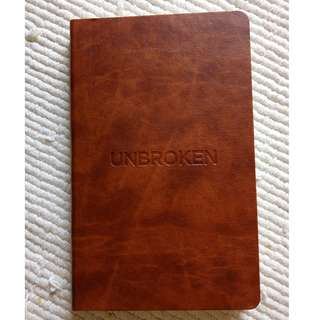 Unbroken movie notebook (Castelli)