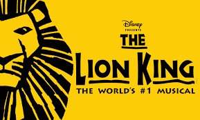 Lion King Ticket for May 5