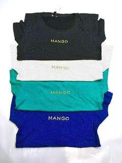 MANGO TEES  BRANDED (FOR GIRLS)