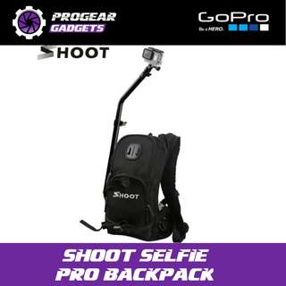 SHOOT Selfie Pro Backpack - For Gopro and all Action Cameras