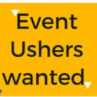 Part time Event Ushers x60 Needed