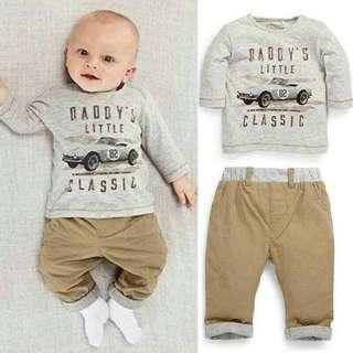 Baby Boy Set ~READY STOK~